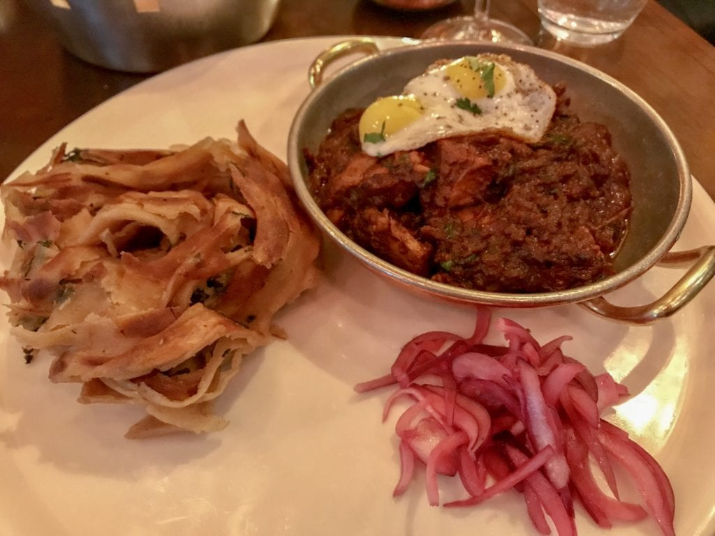 Ghee-roast lamb curry at Pickle in Dublin
